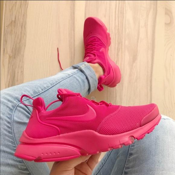 50ae22aeacfd78 Nike women s presto fly rush pink